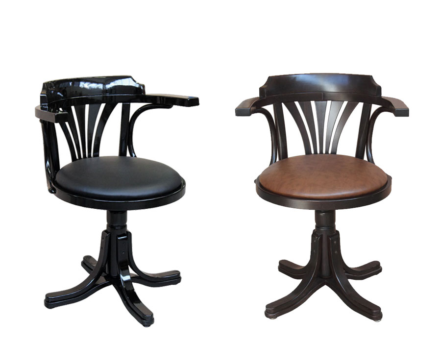 poltroncine girevoli con seduta imbottita, poltroncine in legno, poltroncine girevoli da ufficio